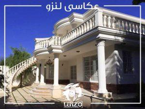 باغ عمارت دل آرا برای عکاسی عروس در شهریار