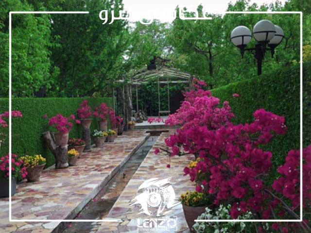 اجاره باغ برای عکاسی عروس