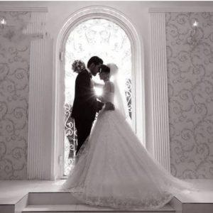 عکاسی ضدنور عروس و داماد (عکاسی سیولئت)