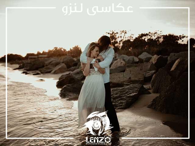 فرمالیته عروس در ساحل