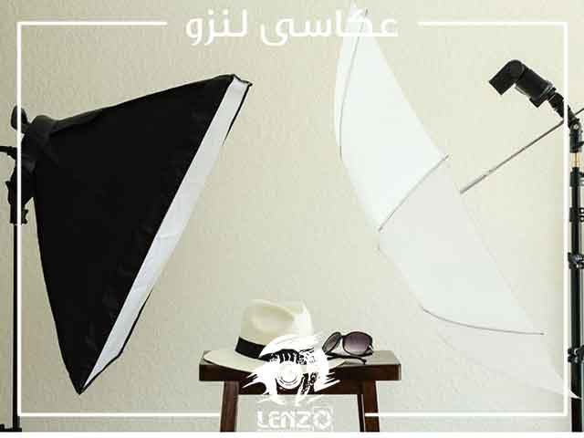 چتر نور عکس