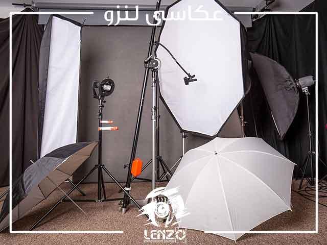 تجهیزات نورپردازی عکاسی برای حرفه ای ها